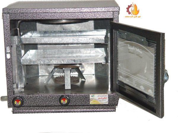 تنور گازی دوسینی رنگی GS201
