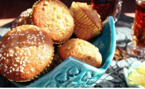 پخت کیک یزدی با تنورگازی